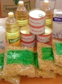 Odbiór żywności Program Fead