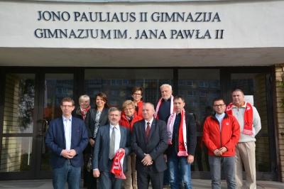 Wyjazd delegacji pracowników Caritas na Litwę