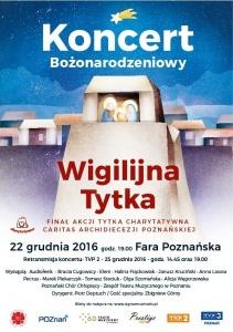 Koncert Wigilijna Tytka już w czwartek