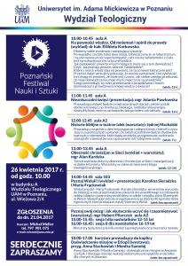 Poznański Festiwal Nauki i Sztuki - Wydział Teologiczny UAM