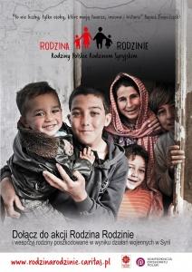 Poznań dla Syrii - zbiórka funduszy na projekt Rodzina Rodzinie
