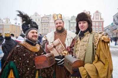 Zapraszamy na Orszak Trzech Króli w Poznaniu
