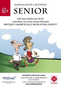 """""""Nowoczesny i aktywny senior"""" – bezpłatne szkolenia i warsztaty dla osób 60+"""