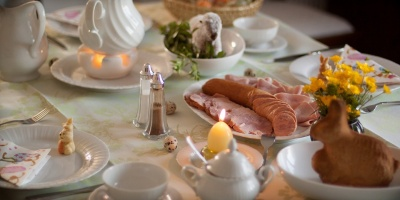 Śniadanie wielkanocne dla ubogich