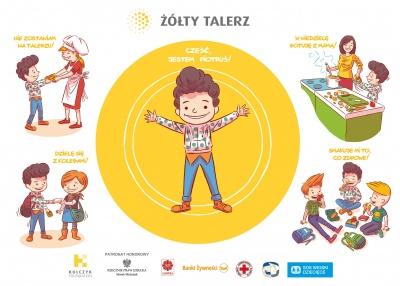 """Dołączyliśmy do programu """"Żółty talerz"""", który prowadzi Kulczyk Foundation"""
