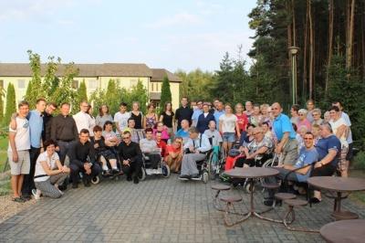 Wakacje dla chorych w Zaborówcu