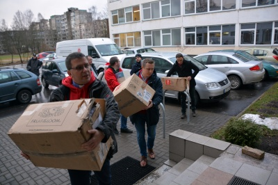 Delegacja Caritas wróciła z Litwy