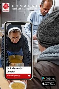 Aplikacja mobilna Caritas