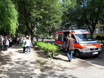 Mobilny Punkt Pomocy Medycznej - Dyżury ambulansu - październik 2019