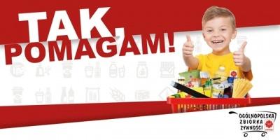 "XVII Ogólnopolska Zbiórka Żywności Caritas – ""Tak, pomagam""  06-07 grudnia 2019"