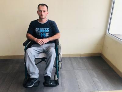Chcemy pomóc młodemu Gruzinowi, który znalazł się w ekstremalnie trudnej sytuacji życiowej