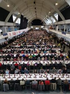 Wspólnie zorganizowaliśmy Wigilię dla blisko 1400 potrzebujących