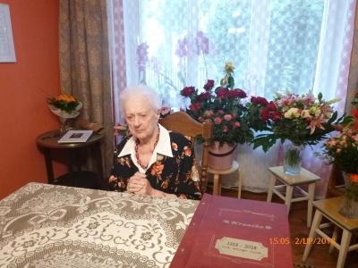 Przekaż 1% na wolontariat - poznaj historię naszej 102 letniej podopiecznej Pani Czesławy