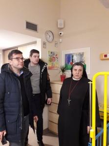 Jesteśmy z wizytą na Litwie w Hospicjum założonym przez siostrę Michaelę Rak