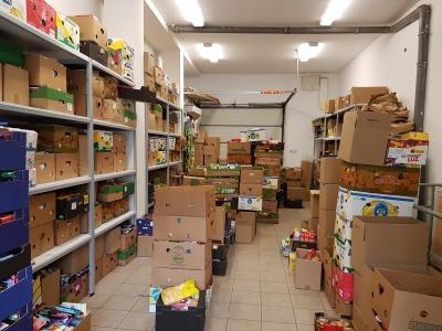 Zbiórka żywności i środków czystości