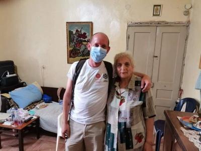 W Bejrucie wspieramy medycznie, żywieniowo i odbudowując mieszkania
