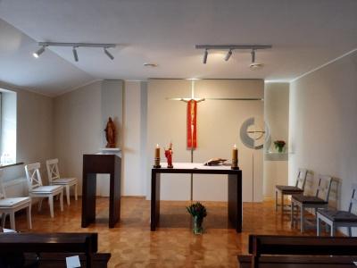 Poświęcenie kaplicy św. Józefa w centrali Caritas Poznań
