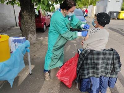 Zorganizowaliśmy szczepienia przeciwko COVID-19 dla osób bezdomnych