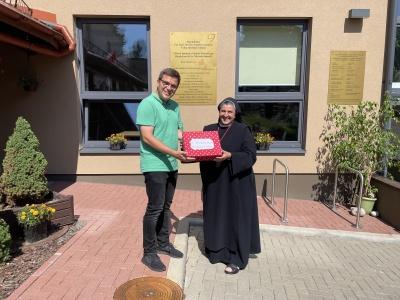 Odwiedziliśmy Hospicjum na Litwie