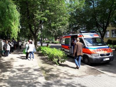 Mobilny Punkt Pomocy Medycznej - Dyżury ambulansu - październik 2021