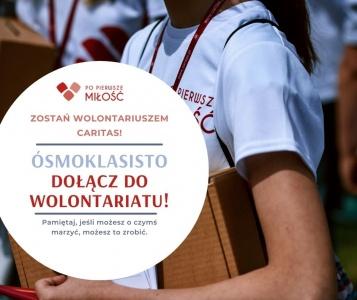 Ósmoklasisto dołącz do wolontariatu!