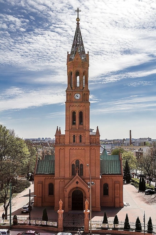 kościoł na ul Głogowskiej