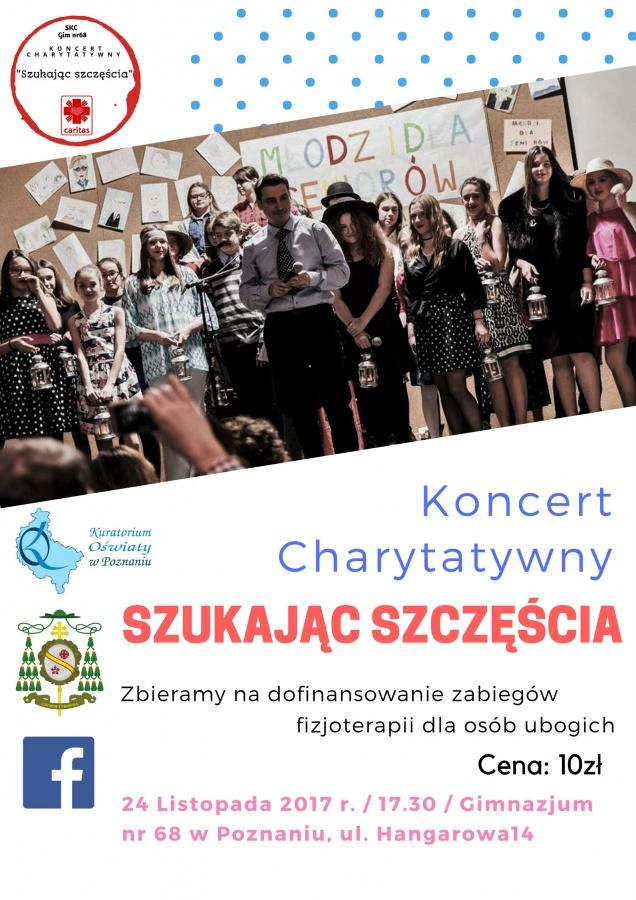 Koncert charytatywny Szukajac Szczescia
