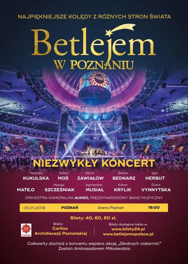Bilety Betlejem w Poznaniu