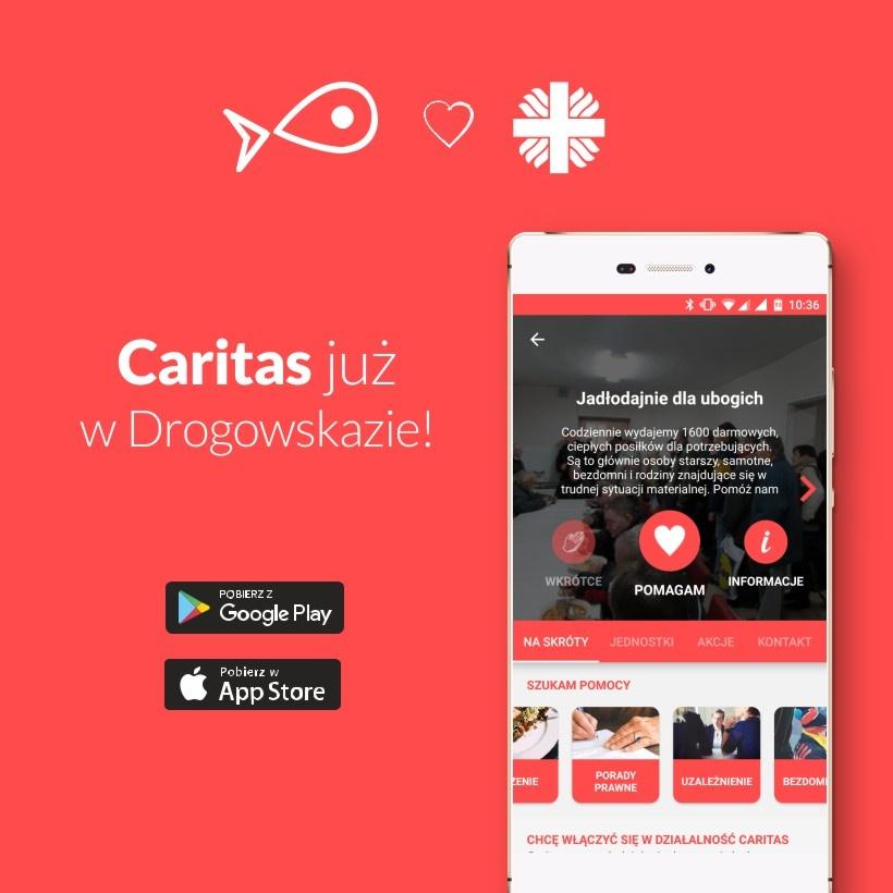 Aplikacja Drogowskaz - Caritas Poznań