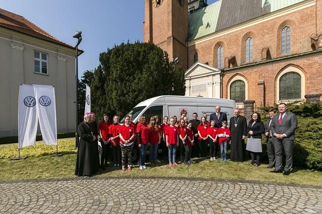 Nowy Volkswagen Crafter Kasten w Caritas