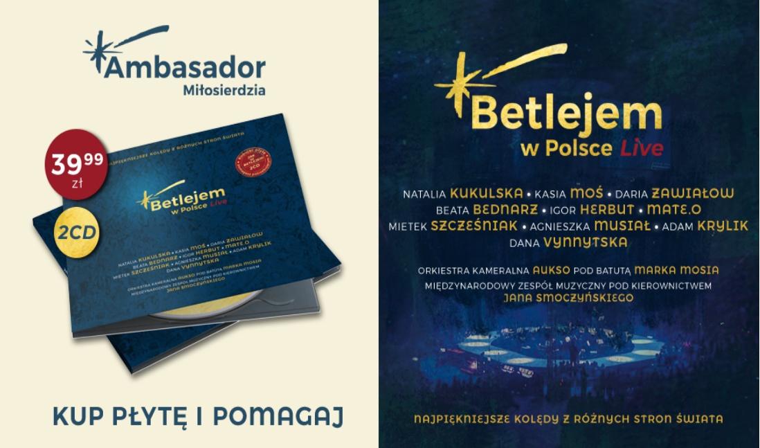 Betlejem w Polsce - płyta
